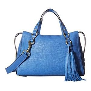 Cole Haan Cassidy Satchel Riverside Blue